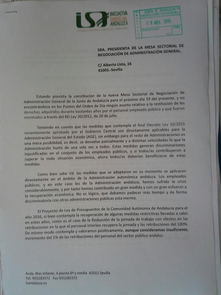 ESCRITO RESTITUCIÓN DE DERECHOS
